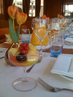 Luxury dinnercruise, saloonboat Amsterdam,