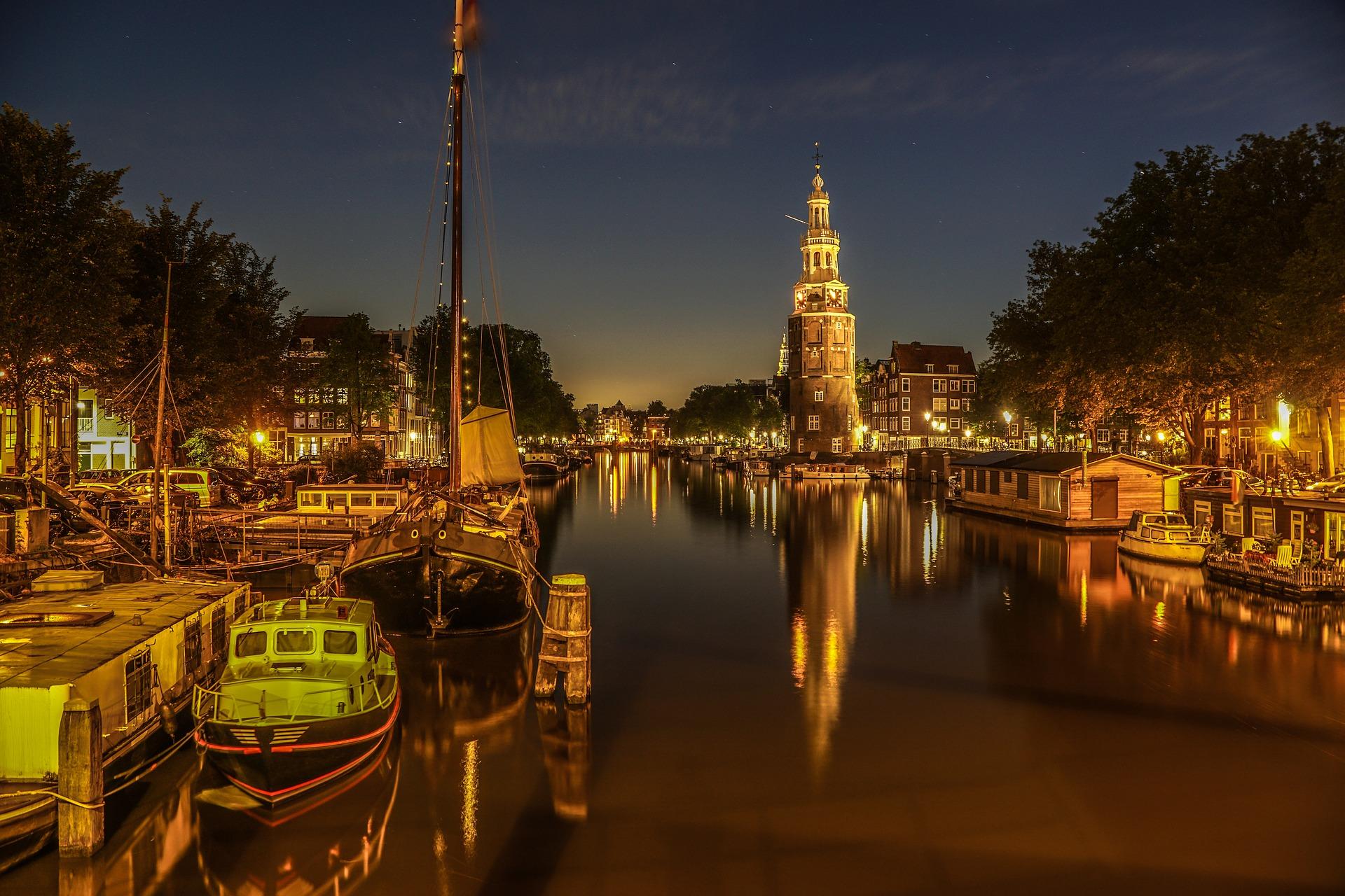 Rondvaart in Amsterdam Brouwersgracht Prinsengracht