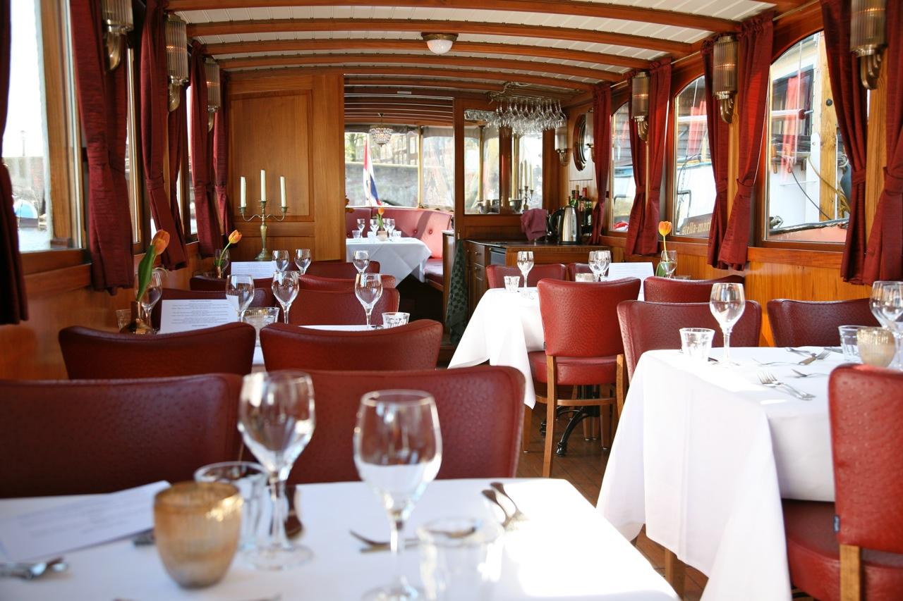 (Nederlands) Dinner cruise AmsterdamDinner cruise Amsterdam