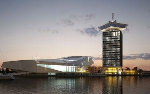 Amsterdam architectuur vaartocht, Eye en Adam