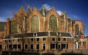 Amsterdam architectuur vaartocht, Oude Kerk Amsterdam