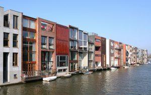 Amsterdam architectuur vaartocht, Scheepstimmermanstraat Zeeburg Amsterdam