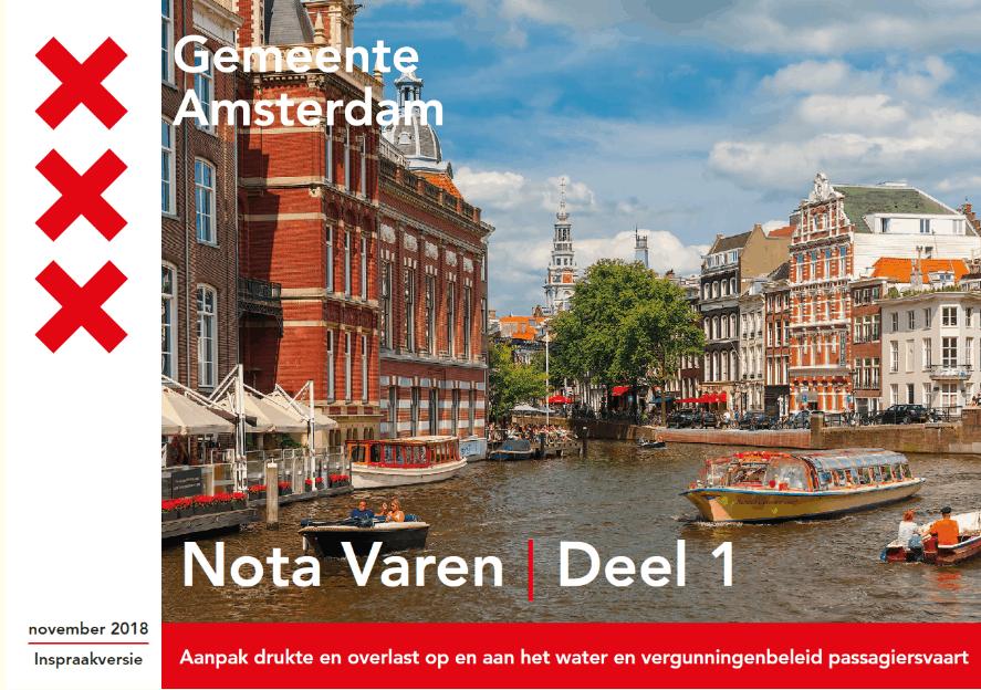 Nota varen Amsterdam