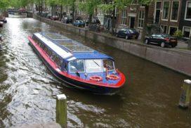 Amsterdamse rondvaartboot elektrisch