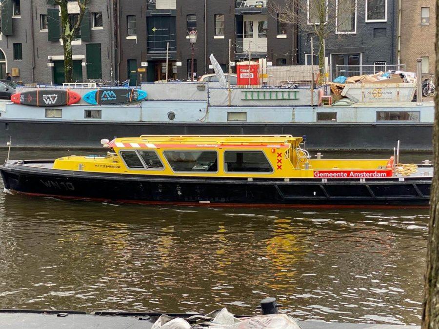 Doorvaarvignet Amsterdam