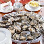 oesters op salonboot Hilda